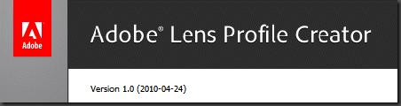 Lens profile creator